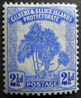 2 1/2d Gilbert & Ellice Islands - now Kiribati & Tuvalu