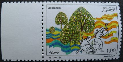 Algeria - farming, 1987