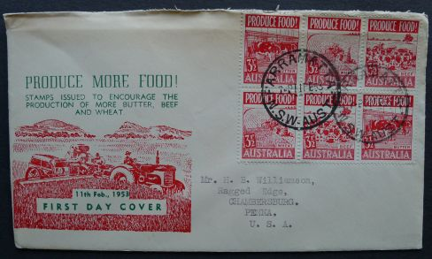 Australia, Food security: Produce more food campaign, 1953