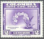 Columbia, orchids, Odontoglossum crispum, 1949