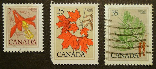 Canadian stamps - Flora of Canada