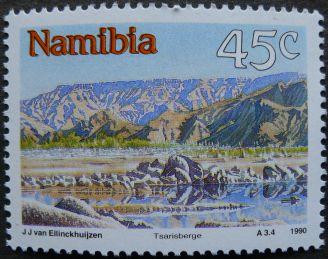 Namibia: Tsarisberge, 1990