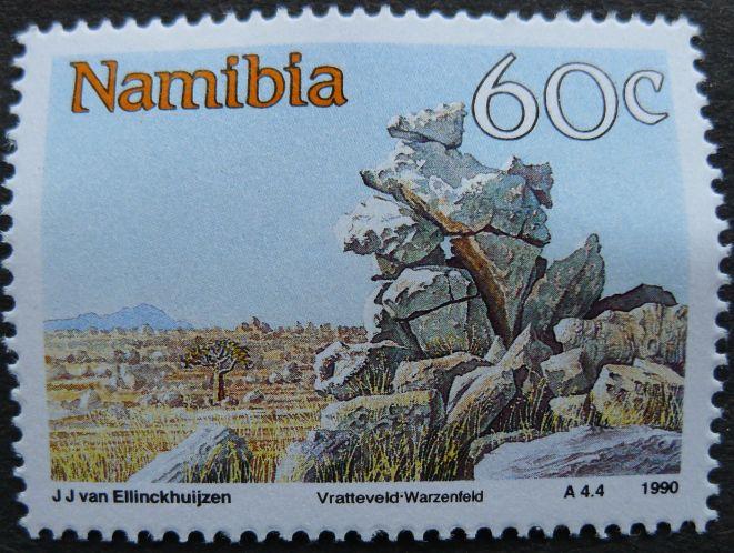 Namibia: Vratteveld, 1990