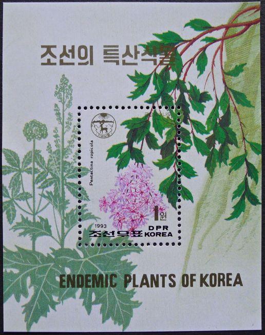 PDR North Korea, Pentactina rupicola, 1993