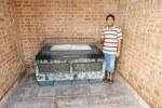 Tanbir, @ the Commonwealth War Grave, Chittagong