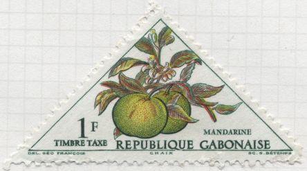 Gabon - Citrus reticulata, madarin