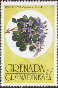 Grenada & the Grenadine - Guaiacum officinale, Lignum Vitae