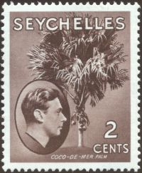 Seychelles - Lodoica maldavica, Double coconut