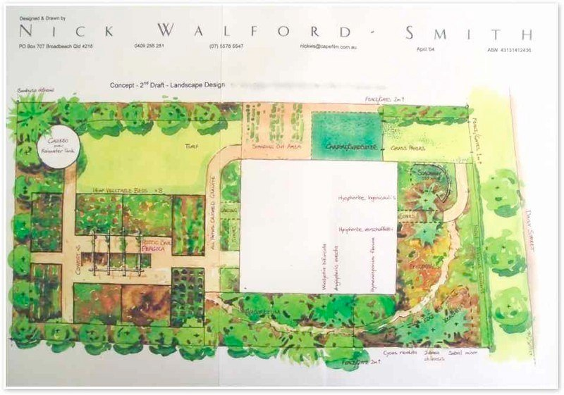 Final garden design by Nick Walford-Smith