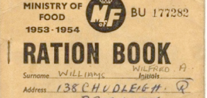 My Grandfather's ration book