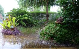 Stormwater infiltration well as Cyclone Marcia approached Brisbane, Feb 2015