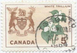 Canada - Trillium grandiflorum