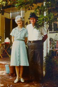 Charles and Hilda Chapman, Nedlands, 1982