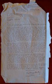 Dr Wycherley, Director, Kings Park, Western Australia, 19.2.1982