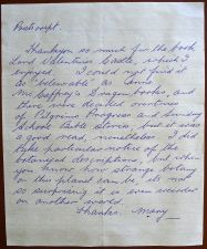 Post script, Mary Smith, undated