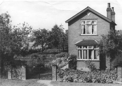 'Casita', great grandad William Coleby's home and market garden, Fitzgilbert Road, Colchester, England, ca. 1910,
