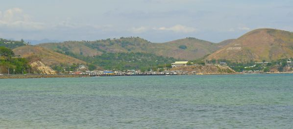 Port Moresby - situated in the dry tropics