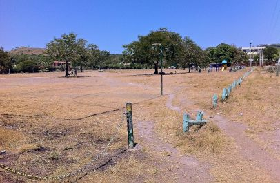 Local park, Boroko. Minimalist, but I've seen worse in Australia.