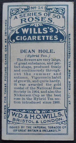 Rose, Dean Hole
