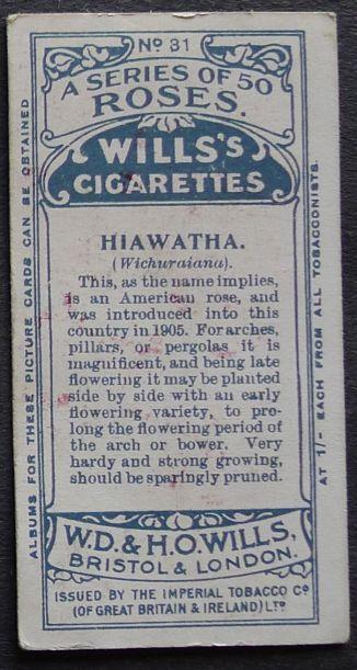 Rose, Hiawatha