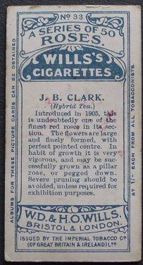 Rose, J B Clark