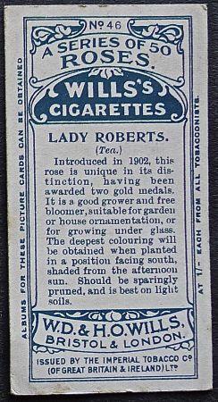 Rose, Lady Roberts