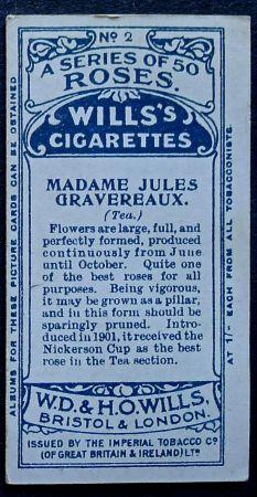 Rose, Madame Jules Gravereaux