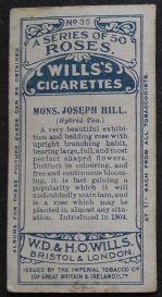 Rose, Monsieur Joseph Hill
