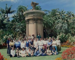 After writing these notes in 1998, I persuaded the women employees at the Royal Botanic Gardens, Sydney, to celebrate their invaluable contribution. Photo: Jaime Plaza.