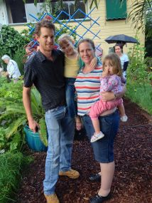 This gardening family asked a few tough questions. Q: how many berry fruit do you grow? A: 10 (now I've checked)
