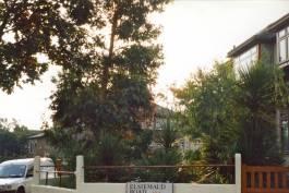 Australian-effect front garden, 1990
