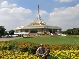 Jerry at Rama IX Botanic Garden, Bangkok