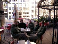 Gardeners last team meeting prior to the Sydney Olympics