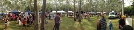 Tondoon Botanic Gardens, Ecofest 2014