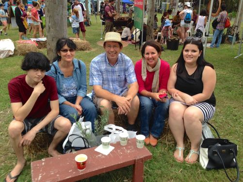 Some families travelled from drought affected far western Qld for inspiration