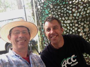 Robb Kidd of Zinc Radio, a partner of Ecofest