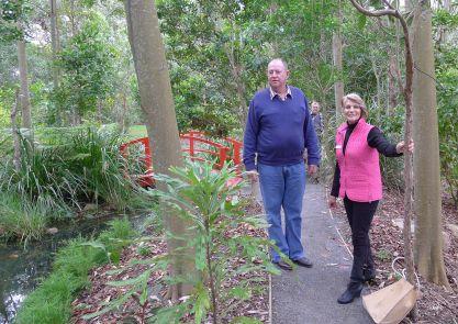 Di and John McRae, Open Gardens Australia