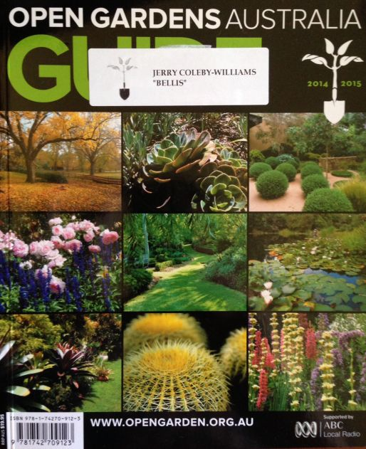 Open Gardens Australia 2015 Guide Book