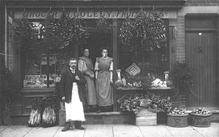 Great Grandad's Shop, Colchester ca 1914
