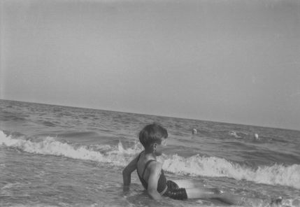 Dad at the beach ca 1932