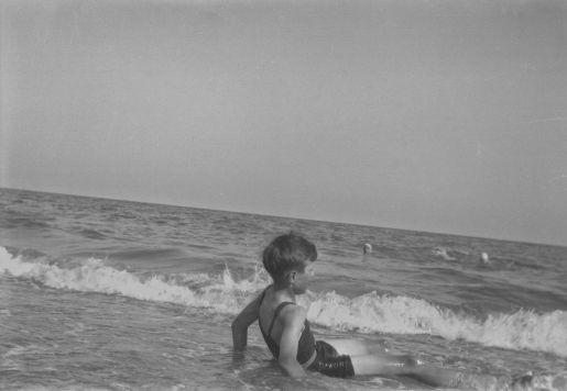 Dad at the beach ca 1932