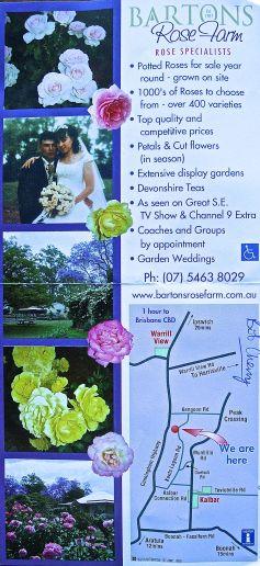 Barton's Rose Farm, Kalbar