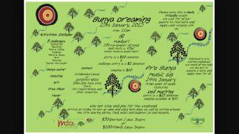 Bunya Dreaming, re-established by Barung Landcare