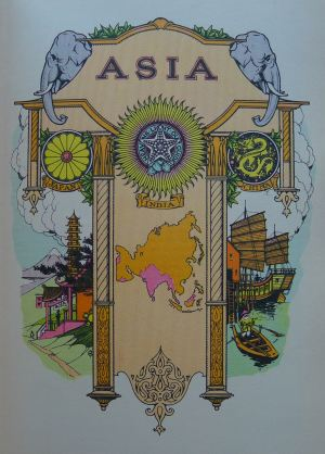 Asia, Daily Express Encyclopaedia, 1934