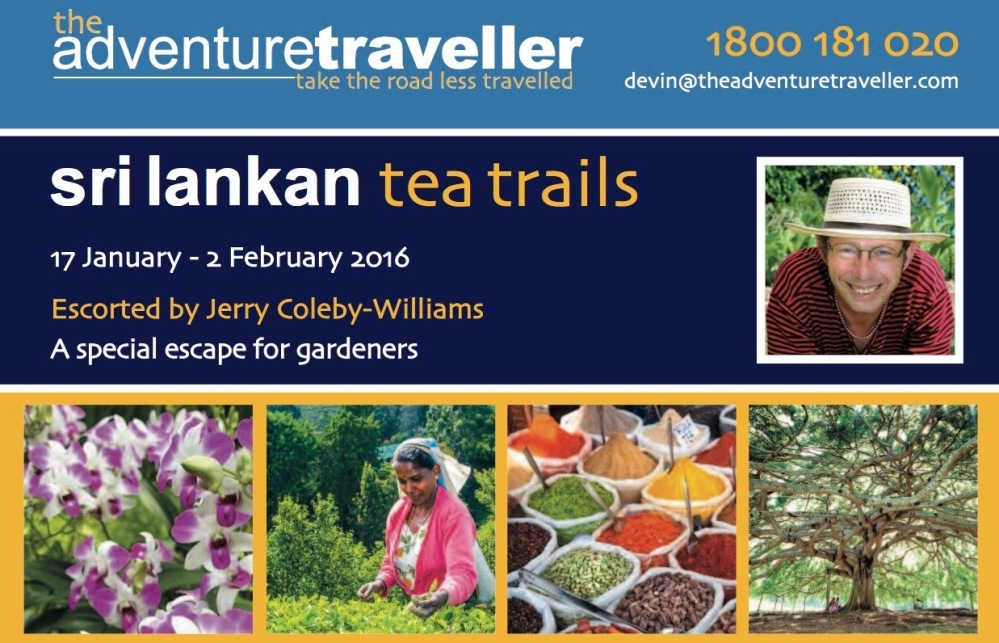 Sri Lanka 2016: a tour for gardeners and gourmets