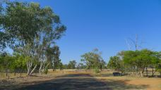 End of Barcaldine town
