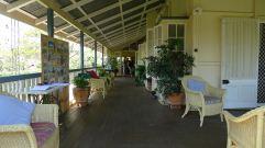 Heather's romantic cottage garden, Barcaldine
