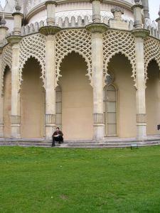 Tapestry lawn at Brighton Pavilion, UK