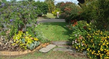 Posties view: Debra's footpath garden