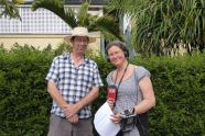 Interview: decriminalising footpath gardening with Terri Begley and Spencer Howsen's ABC 612 Breakfast Show